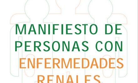 Manifiesto derechos enfermedad renal