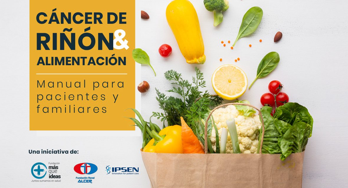 Presentación online del manual de alimentación en cáncer renal para pacientes y familiares