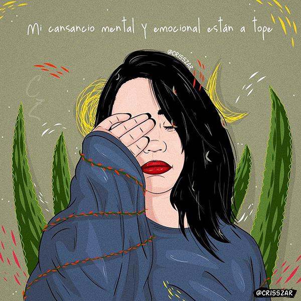 """ALCER Giralda nos habla del """"cansancio mental"""""""